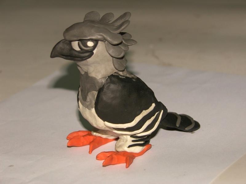 jpeg, Finalmente, ¡tenemos nuestra águila arpía lista para cazar ...